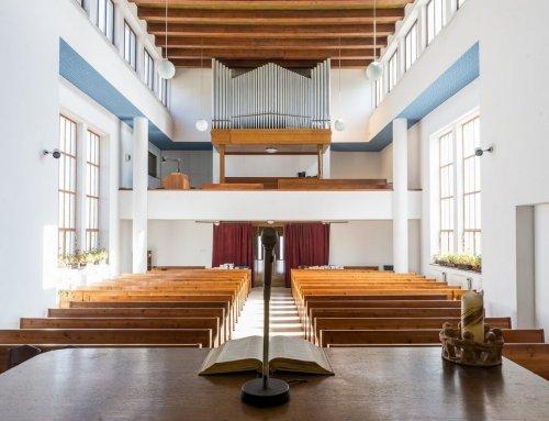 Střešovický evangelík na září 2019