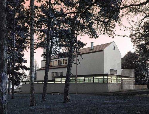 Přístavba střešovického evangelického kostela