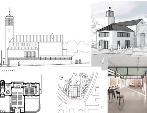 Dostavba sborových prostorů – ANO