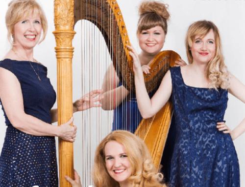 Koncerty na kopci – harfový kvartet Prah-a-harP