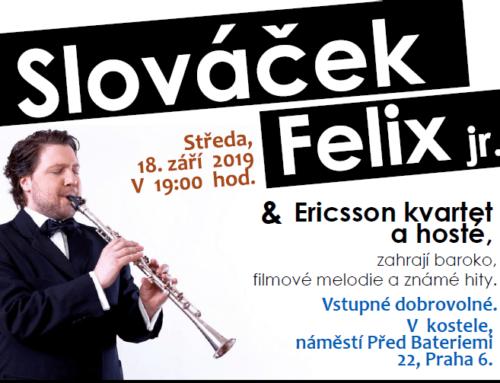 Felix Slováček jr.  Koncert na kopci