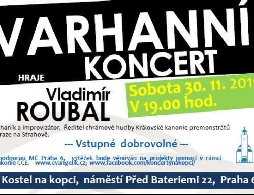 Varhanní koncert – Vladimír Roubal